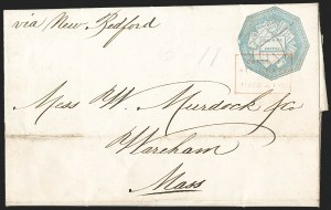 Sale Number 1230, Lot Number 665, Hale & Co.: Massachusetts (Continued)Hale & Co., 5c Blue, Street Address Omitted (75L5), Hale & Co., 5c Blue, Street Address Omitted (75L5)
