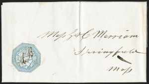 Sale Number 1230, Lot Number 667, Hale & Co.: Massachusetts (Continued)Hale & Co., 5c Blue, Street Address Omitted (75L5), Hale & Co., 5c Blue, Street Address Omitted (75L5)