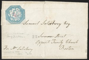 Sale Number 1230, Lot Number 672, Hale & Co.: Massachusetts (Continued)Hale & Co., 5c Blue, Street Address Omitted (75L5), Hale & Co., 5c Blue, Street Address Omitted (75L5)