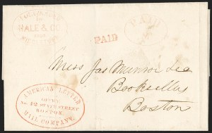Sale Number 1230, Lot Number 685, Hale & Co.: ConnecticutForwarded by Hale & Co. from Middletown, Forwarded by Hale & Co. from Middletown