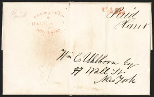 Sale Number 1230, Lot Number 686, Hale & Co.: ConnecticutForwarded by Hale & Co. from New Haven, Forwarded by Hale & Co. from New Haven