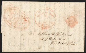 Sale Number 1230, Lot Number 688, Hale & Co.: ConnecticutForwarded by Hale & Co. from New Haven, Forwarded by Hale & Co. from New Haven