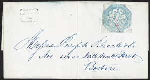 Sale Number 1230, Lot Number 701, Hale & Co.: ConnecticutHale & Co., 5c Blue, Street Address Omitted (75L5), Hale & Co., 5c Blue, Street Address Omitted (75L5)