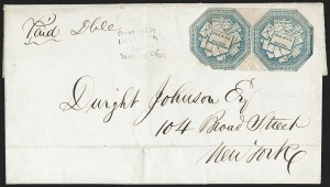 Sale Number 1230, Lot Number 702, Hale & Co.: ConnecticutHale & Co., 5c Blue, Street Address Omitted (75L5), Hale & Co., 5c Blue, Street Address Omitted (75L5)