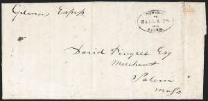 Sale Number 1230, Lot Number 709, Hale & Co: MaineForwarded by Hale & Co. from Salem, Forwarded by Hale & Co. from Salem