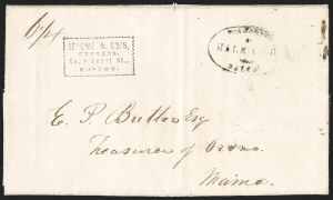 Sale Number 1230, Lot Number 712, Hale & Co: MaineForwarded by Hale & Co. from Salem, Forwarded by Hale & Co. from Salem