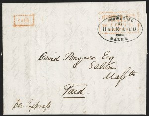 Sale Number 1230, Lot Number 715, Hale & Co: MaineForwarded by Hale & Co. from Salem, Forwarded by Hale & Co. from Salem