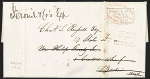 Sale Number 1230, Lot Number 716, Hale & Co: MaineForwarded by Hale & Co.'s Great Eastern Mail, Forwarded by Hale & Co.'s Great Eastern Mail