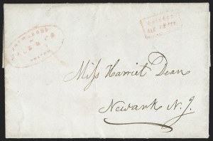 Sale Number 1230, Lot Number 749, Hale & Co: New Jersey and New YorkForwarded by Hale & Co. from Boston, Forwarded by Hale & Co. from Boston