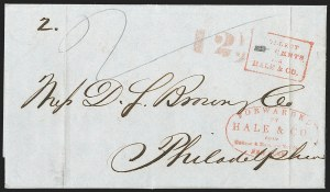 Sale Number 1230, Lot Number 757, Hale & Co: New Jersey and New YorkForwarded by Hale & Co. from Courier & Enquirer Building, New York, Forwarded by Hale & Co. from Courier & Enquirer Building, New York