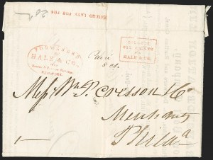 Sale Number 1230, Lot Number 760, Hale & Co: New Jersey and New YorkForwarded by Hale & Co. from Courier & Enquirer Building, New York, Forwarded by Hale & Co. from Courier & Enquirer Building, New York