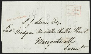 Sale Number 1230, Lot Number 762, Hale & Co: New Jersey and New YorkCollect/Six Cents/For/Hale & Co, Collect/Six Cents/For/Hale & Co