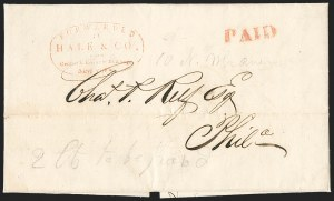 Sale Number 1230, Lot Number 771, Hale & Co: New Jersey and New YorkForwarded by Hale & Co. from Courier & Enquirer Building, New York, Forwarded by Hale & Co. from Courier & Enquirer Building, New York
