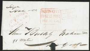 Sale Number 1230, Lot Number 772, Hale & Co: New Jersey and New YorkForwarded by Hale & Co. from Boston, Forwarded by Hale & Co. from Boston
