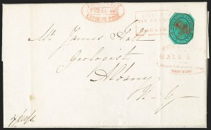 Sale Number 1230, Lot Number 775, Hale & Co: New Jersey and New YorkForwarded by Hale & Co. from Courier & Enquirer Building, New York, Forwarded by Hale & Co. from Courier & Enquirer Building, New York