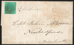 Sale Number 1230, Lot Number 780, Hale & Co: New Jersey and New YorkCollect/Six Cents/for/Hale & Co, Collect/Six Cents/for/Hale & Co