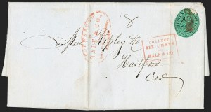 Sale Number 1230, Lot Number 781, Hale & Co: New Jersey and New YorkForwarded by Hale & Co. from Courier & Enquirer Building, New York, Forwarded by Hale & Co. from Courier & Enquirer Building, New York