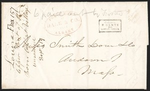 Sale Number 1230, Lot Number 797, Hale & Co: New Jersey and New YorkForwarded by Hale & Co. from Albany, Forwarded by Hale & Co. from Albany