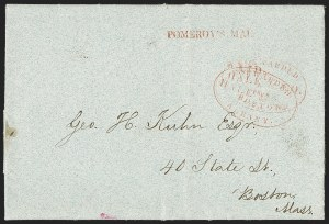 Sale Number 1230, Lot Number 803, Hale & Co: New Jersey and New YorkForwarded by Hale & Co. from Albany, Forwarded by Hale & Co. from Albany