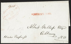 Sale Number 1230, Lot Number 804, Hale & Co: New Jersey and New YorkForwarded by Hale & Co. from Providence, Forwarded by Hale & Co. from Providence
