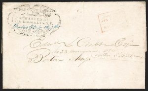 Sale Number 1230, Lot Number 808, Hale & Co: New Jersey and New YorkFORWARDED BY/HALE BROOKLYN. N.Y, FORWARDED BY/HALE BROOKLYN. N.Y