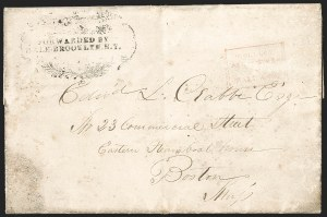 Sale Number 1230, Lot Number 810, Hale & Co: New Jersey and New YorkFORWARDED BY/HALE BROOKLYN. N.Y, FORWARDED BY/HALE BROOKLYN. N.Y