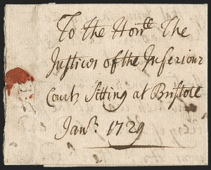 Sale Number 1230, Lot Number 970, Colonial and 18th Century,