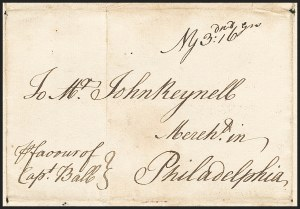 Sale Number 1230, Lot Number 974, Colonial and 18th Century(New York N.Y, (New York N.Y