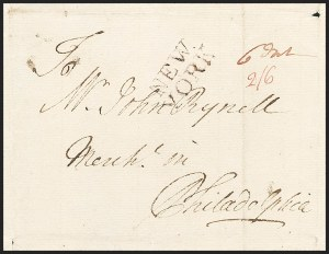 "Sale Number 1230, Lot Number 980, Colonial and 18th Century(New York N.Y., 1757) ""NEW/YORK"", (New York N.Y., 1757) ""NEW/YORK"""