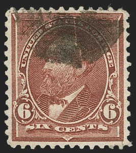 Sale Number 1231, Lot Number 199, 1894-1903 Bureau Issues (Scott 246-284)6c Dull Brown, USIR Watermark (271a), 6c Dull Brown, USIR Watermark (271a)