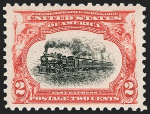Sale Number 1231, Lot Number 214, 1901 Pan-American Issue (Scott 294-299)2c Pan-American (295), 2c Pan-American (295)