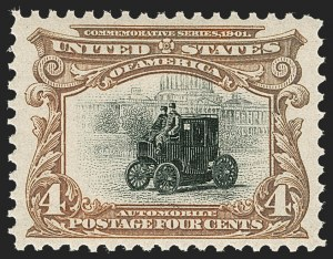 Sale Number 1231, Lot Number 215, 1901 Pan-American Issue (Scott 294-299)4c Pan-American (296), 4c Pan-American (296)