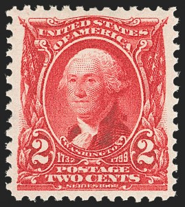 Sale Number 1231, Lot Number 219, 1902-08 Issues (Scott 300-319)2c Carmine (301), 2c Carmine (301)