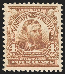 Sale Number 1231, Lot Number 221, 1902-08 Issues (Scott 300-319)4c Brown (303), 4c Brown (303)