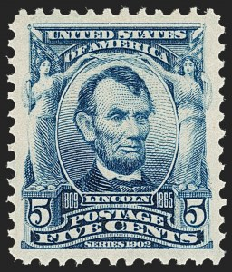 Sale Number 1231, Lot Number 222, 1902-08 Issues (Scott 300-319)5c Blue (304), 5c Blue (304)