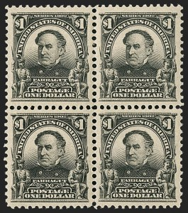 Sale Number 1231, Lot Number 229, 1902-08 Issues (Scott 300-319)$1.00 Black (311), $1.00 Black (311)