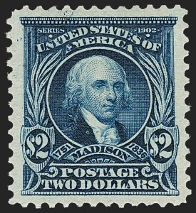 Sale Number 1231, Lot Number 230, 1902-08 Issues (Scott 300-319)$2.00 Dark Blue (312), $2.00 Dark Blue (312)