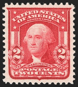 Sale Number 1231, Lot Number 237, 1902-08 Issues (Scott 300-319)2c Carmine, Ty. I (319), 2c Carmine, Ty. I (319)
