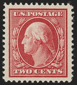 Sale Number 1231, Lot Number 269, 1909 Bluish Paper Issue (Scott 357-366)2c Carmine, Bluish (358), 2c Carmine, Bluish (358)