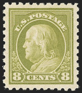 Sale Number 1231, Lot Number 396, 1916-17 Issues (Scott 462-480)8c Olive Green (470), 8c Olive Green (470)