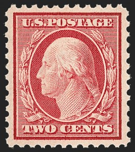 Sale Number 1231, Lot Number 460, 1917-19 Issues (Scott 481-524)2c Carmine (519), 2c Carmine (519)