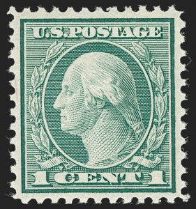 Sale Number 1231, Lot Number 489, 1919-20 Issues (Scott 537-550)1c Green, Rotary (545), 1c Green, Rotary (545)