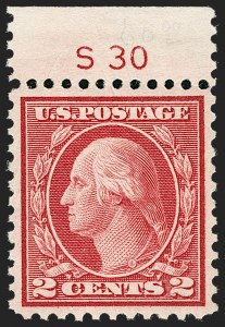 Sale Number 1231, Lot Number 490, 1919-20 Issues (Scott 537-550)2c Carmine Rose, Ty. III, Rotary (546), 2c Carmine Rose, Ty. III, Rotary (546)