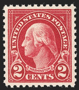 Sale Number 1231, Lot Number 498, 1922-38 Issues (Scott 553-634A)2c Carmine (554), 2c Carmine (554)