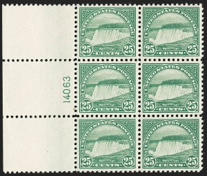 Sale Number 1231, Lot Number 509, 1922-38 Issues (Scott 553-634A)25c Yellow Green (568), 25c Yellow Green (568)