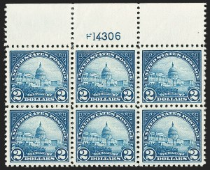 Sale Number 1231, Lot Number 514, 1922-38 Issues (Scott 553-634A)$2.00 Deep Blue (572), $2.00 Deep Blue (572)