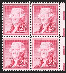 Sale Number 1231, Lot Number 591, Modern Errors2c Jefferson, Silkote Paper (1033a), 2c Jefferson, Silkote Paper (1033a)