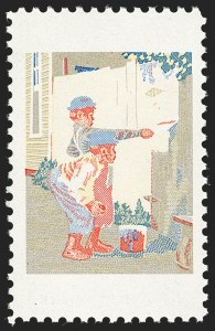 Sale Number 1231, Lot Number 600, Modern Errors8c Tom Sawyer, Red & Black Engraved Colors Omitted (1470b), 8c Tom Sawyer, Red & Black Engraved Colors Omitted (1470b)