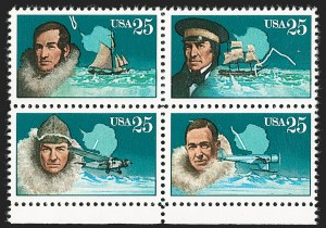 Sale Number 1231, Lot Number 615, Modern Errors25c Arctic Explorers, Black Omitted (2389b), 25c Arctic Explorers, Black Omitted (2389b)