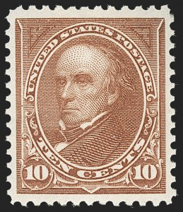 Sale Number 1232, Lot Number 1199, 1894-98 Bureau Issues (Scott 246-284)10c Brown, Ty. I (282C), 10c Brown, Ty. I (282C)